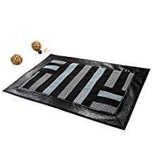 [Simple Strips] Durable Patchwork Home Rug Non Slip Area Rug