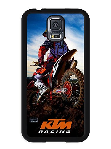 Price comparison product image Samsung S5 Phone Case, Ktm Racing Popular Gifts Case Cover for Samsung Galaxy S5 (Black)