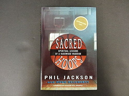 Phil Jackson Signed Sacred Hoops Book Autograph PSA/DNA Certified