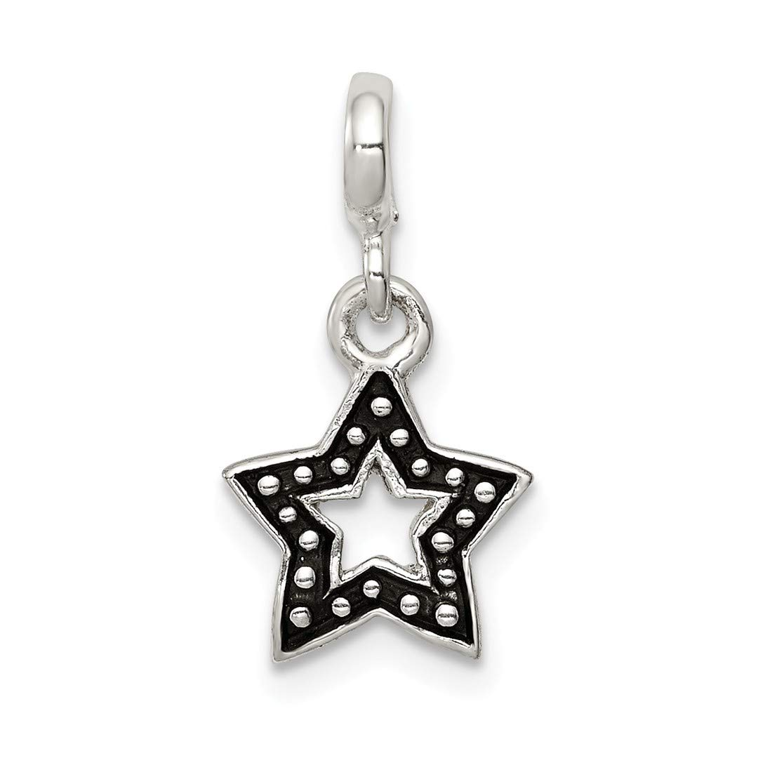 ICE CARATS 925 Sterling Silver Enameled Star Enhancer Necklace Pendant Charm Celestial Fine Jewelry Ideal Gifts For Women Gift Set From Heart
