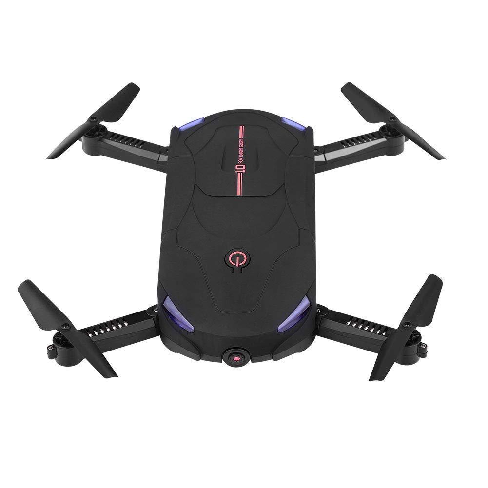 Faltbarer Quadcopter, Wifi RC RC RC Drone Fernbedienung Quadcopter Spielzeug mit 480P 0.3MP Kamera(Schwarz Rot) 8993c5