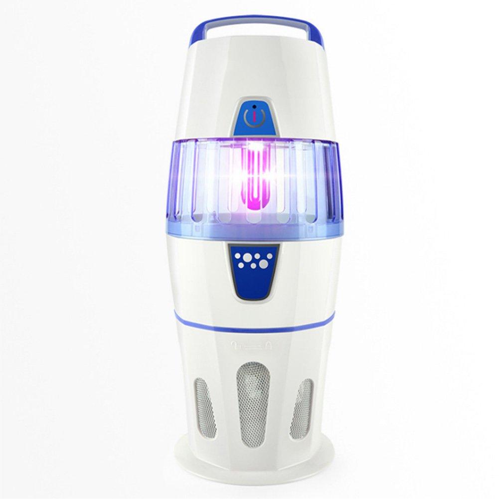 ソーラーモスキートキラーランプ家庭用電気ショックモスキートランプポータブル光触媒モスキートキラーアーティファクト ( Color : 白 ) B07BMV1LYR 14887 白 白