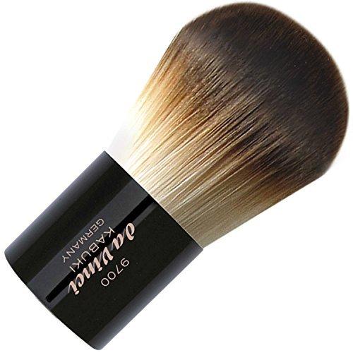 Da Vinci Kabuki Powder Brush in A Metal Travel Box by Cosmetic brushes