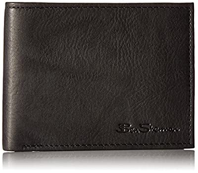 Manchester Full Grain Cowhide Marble Crunch Leather Passcase Wallet With Flip Up ID Window With RFID