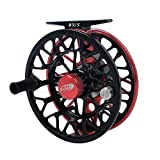 Dr.Fish Fly Fishing Reel T6061 CNC Machined Aluminum Body Stainless Steel Ball Bearings Versatile