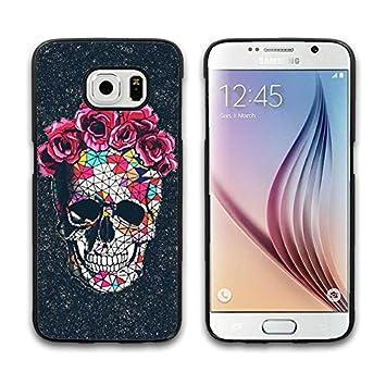 Cool esquéleto Galaxy S6 carcasa de plástico duro con fotos ...