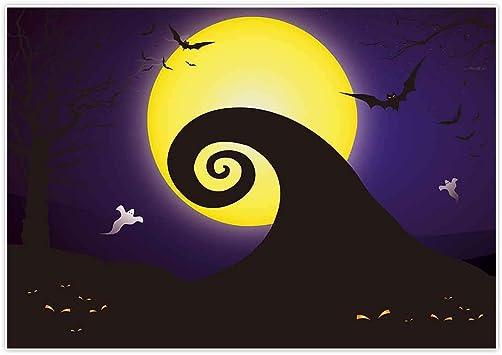 Halloween 2020 Studio Amazon.: Allenjoy 7x5ft Happy Halloween Backdrop for 2020