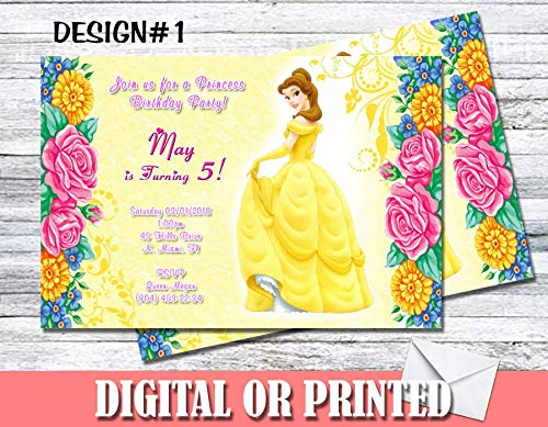 Princess Belle Personalized Birthday