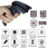 M3M Wireless Barcode Scanner 100M Transmission Distance USB Cordless CCD Automatic Barcode Reader Handhold USB Receiverfor,Store, Supermarket, Warehouse(Upgrade)