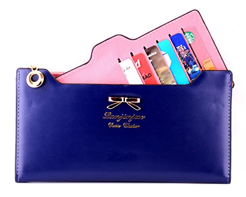 LBS Quality Fashion Korean Style Multi-function Plug-in Wallet Purse Handbag