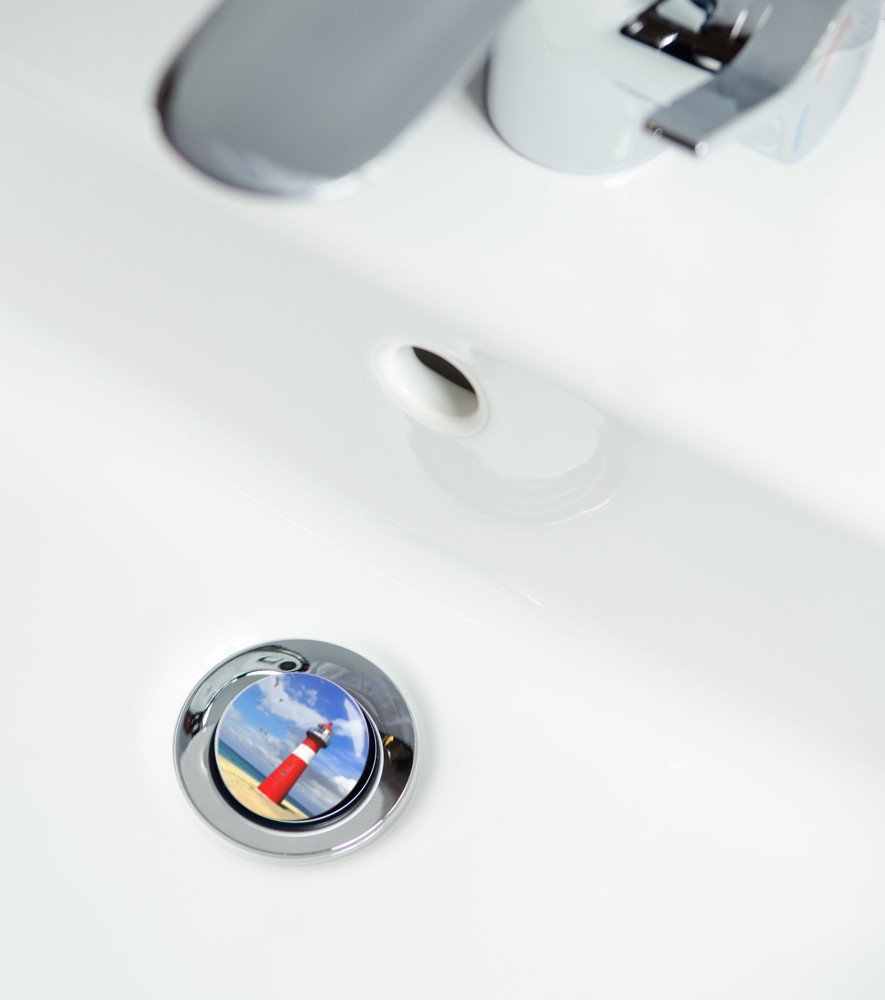 Sanilo Bonde de lavabo Grande s/élection de bondes de lavabo de Haute qualit/é Antique
