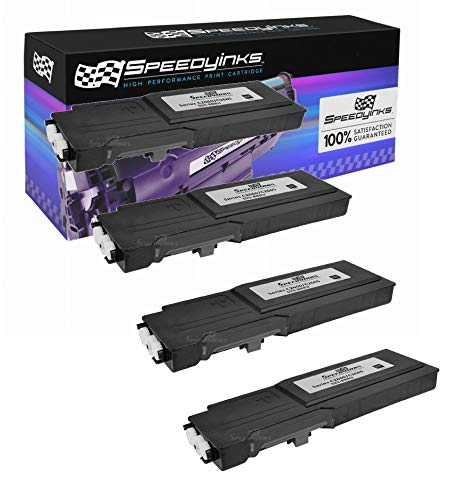 Speedy Inks - 4pk Compatible Dell C2660dn C2660 C2665dnf Ext