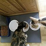 Extra Large Dog Food Mat, FDA Grade Silicone Pet