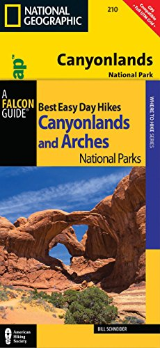 Best Easy Day Hiking Guide and Trail Map Bundle: Canyonlands National Park (Best Easy Day Hikes Series)