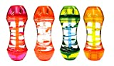 Liquid Colored Spiral Timers By Playlearn - Pack of 3 Assorted Colors