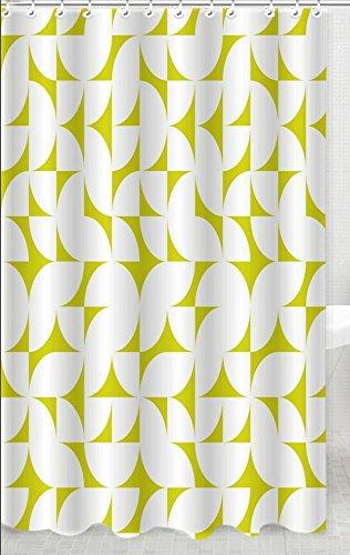 Skipper Geometric PVC Shower Curtain