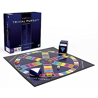 Trivial Pursuit Master Edition Trivia Board Game for Adults and Teens Ages 16 and Up(Amazon Exclusive)