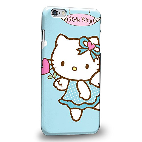 """Case88 Premium Designs Hello Kitty Collection Angel Hello Kitty Protective Snap-on Hard Back Case Cover for Apple iPhone 6 Plus 5.5"""""""