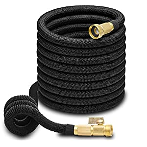 Hospaip-50ft-Garden-Hose-ALL-NEW-Expandable-Water-Hose-with-Double-Latex-Core-34-Solid-Brass-Fittings-Extra-Strength-Fabric-Flexible-Expanding-Hose-with-Storage-Bag-for-Easy-Carry-by