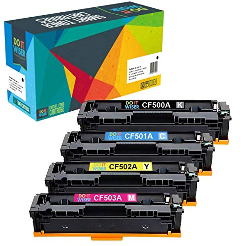 - Do it Wiser Compatible Toner Cartridge Replacement for HP 202A 202X MFP M281fdw for HP Laserjet Pro MFP M281fdw M281cdw M254dw M281dw M254dn M254nw M280nw (CF500A CF501A CF502A CF503A, 4-Pack)