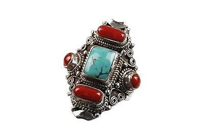 Amazon com: Interact China Fine Tibetan Turquoise Coral