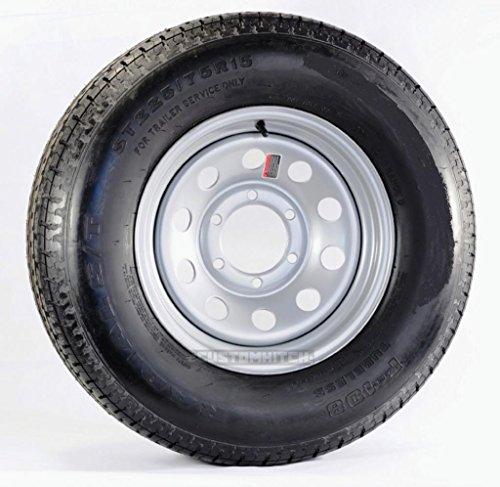 kenda-radial-trailer-tire-on-rim-5242-225-75r15-225-75-15-6lug-silver-modular