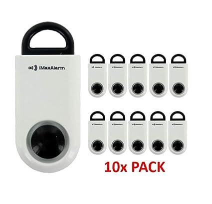Amazon.com: iMaxAlarm 10 Pack Basic SOS Alert Personal Alarm ...