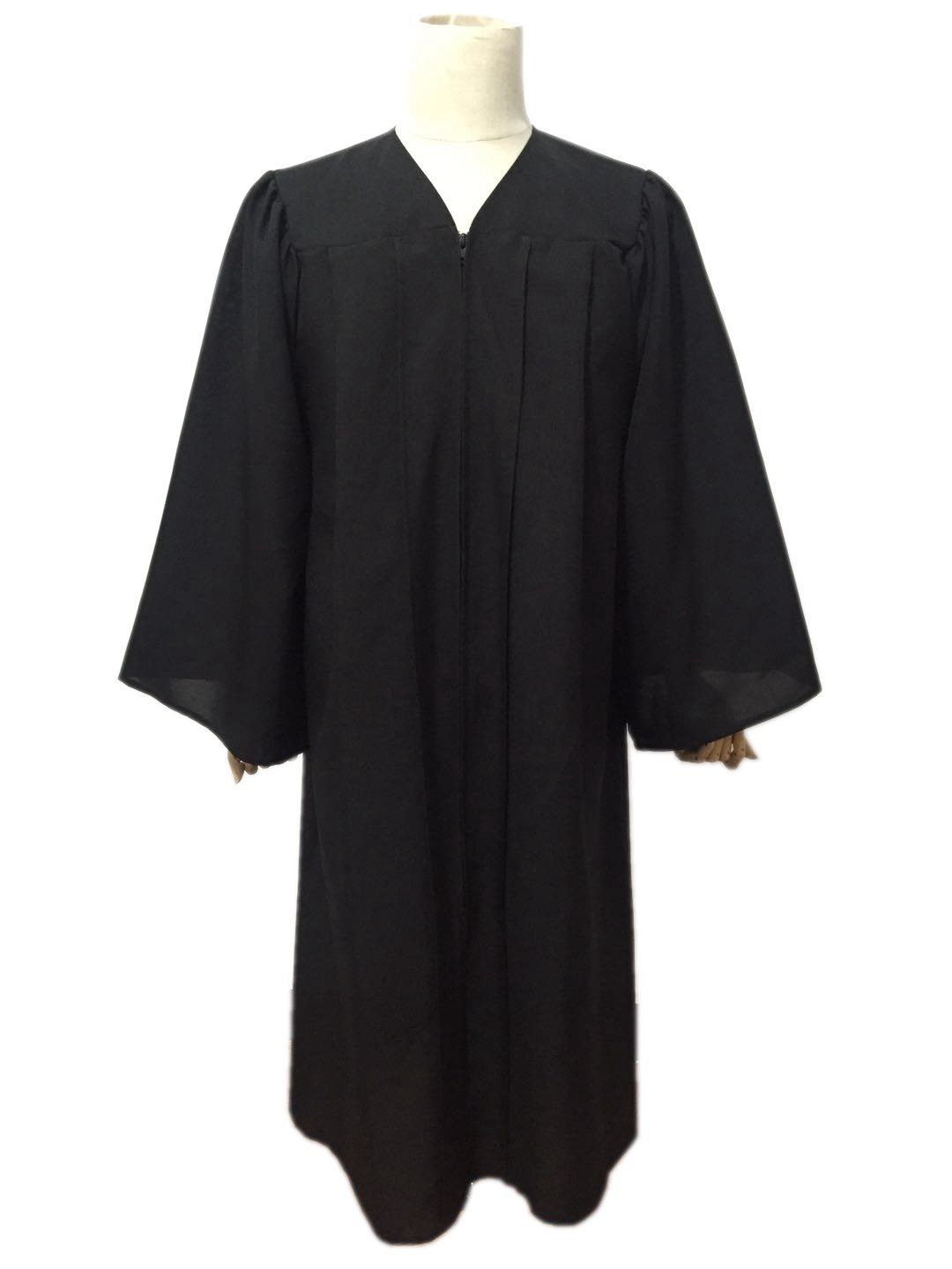 Leishungao Adult Black Choir Robe Matte Finish for Choir Clergy ReligiousWearing Height 5'9''-5'11''FF by Leishungao (Image #4)