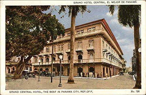 Grand Central Hotel Panama City, Panama Original Vintage Postcard