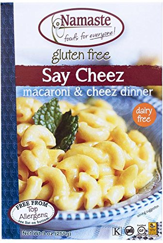 NAMASTE FOODS MEAL PASTA SAY CHEEZ WFGF 9OZ by Namaste Foods