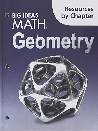 Big Ideas Math Geometry: Resources by Chapter
