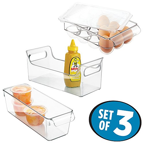 mDesign Storage Containers Condiment Organizer