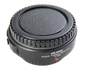 Viltrox adaptador Cuatro Tercios, adaptador de lentes para Micro Cuatro Tercios (M 4/3) a Cuatro Tercios (4/3) JY-43F-02 negro ?