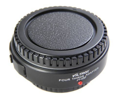 Andoer Four Thirds Adapter, Micro Four Third (M 4/3) to Four Third (4/3) Lens Adapter JY-43F-02 black (US)