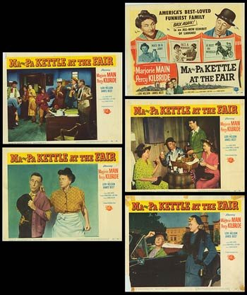 Ma and Pa Kettle At The Fair - Authentic Original 14