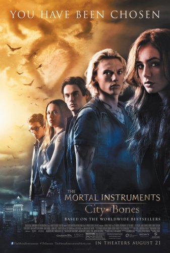 MORTAL INSTRUMENTS MOVIE POSTER 1 Sided ORIGINAL FINAL 27x40 LILLY COLLINS