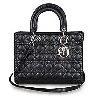 Kattee 100% Lambskin Genuine Leather Designer Handbag with Shoulder Strap