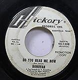 Burt Jonsh/Pye Records 45 RPM DO YOU HEAR ME NOW / UNIVERSAL SOLDIER