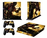 EBTY-Dreams Inc. – Sony Playstation 4 (PS4) – Dark Souls 3 Video Game The Ashen One Vinyl Skin Sticker Decal Protector For Sale