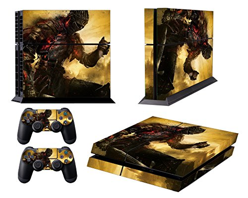 EBTY-Dreams Inc. - Sony Playstation 4 (PS4) - Dark Souls 3 Video Game The Ashen One Vinyl Skin Sticker Decal Protector