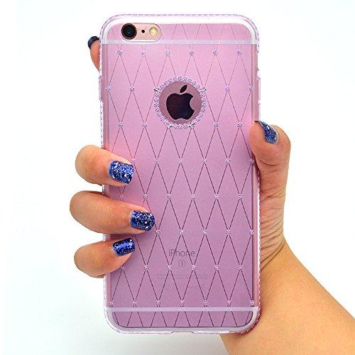 Funda iPhone 7 Plus Sunroyal - Funda de Silicona de gel TPU Semitransparent Flexible Carcasa iPhone 7 Plus Ultra Delgada Caja del Teléfono , Resistente a los Arañazos , Amortigua los Golpes , Protecto B-04