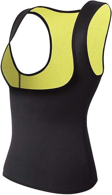 XiuLi Mujeres Hot Sweat Body Shaper adelgazante camisa de neopreno chaleco Thermo Yoga Sauna quemador de grasa cintura Shaper Trainer: Amazon.es: Ropa y accesorios