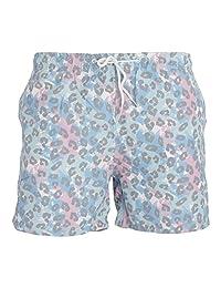 Brave Soul Mens Leopard Swim Shorts
