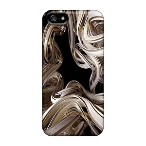 Premium White Abstract 4 Heavy-duty Protection Case For Iphone 5/5s