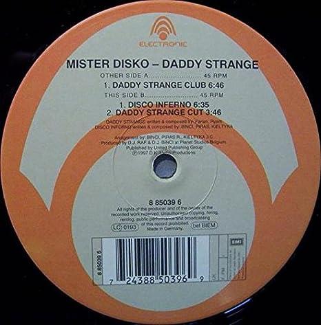 Mister Disko - Daddy strange / Vinyl Maxi Single [Vinyl 12 ...