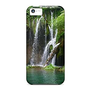 Fashion Protective Waterfalls Free Waterfall Case Cover For Iphone 5c