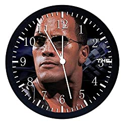 Extra Large Size 14 Rock Dwayne Johnson Wall Clock Home Office Decor or Nice For Gift W87