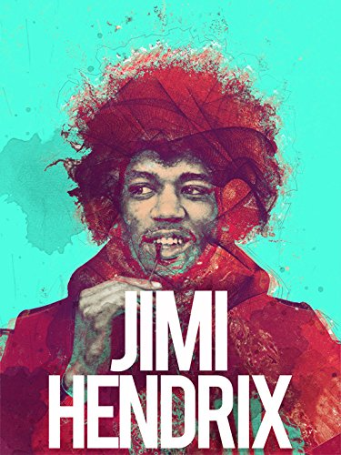 777 Tri-Seven Entertainment Jimi Hendrix Poster Retro Music Art Print,  ((18x24)
