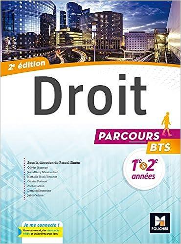 Parcours - DROIT BTS 1re et 2e années - Éd. 2017 - Manuel élève