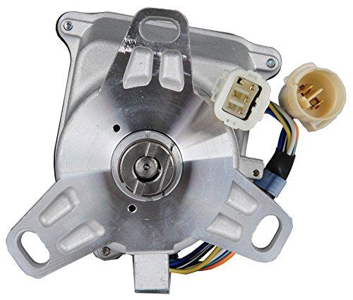Ignition Distributor for Honda Civic CRX Distributor L4 1.5L Compatible with TD01U ()